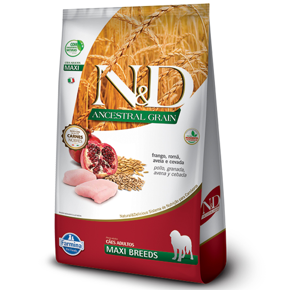 FARMINA ND ANCESTRAL GRAIN CANINE FRANGO ADULTO MAXI 10,1KG