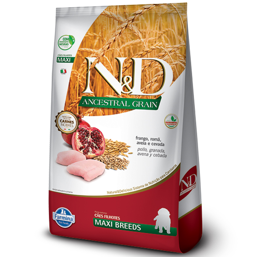 FARMINA ND ANCESTRAL GRAIN CANINE FRANGO PUPPY MAXI 10,1KG