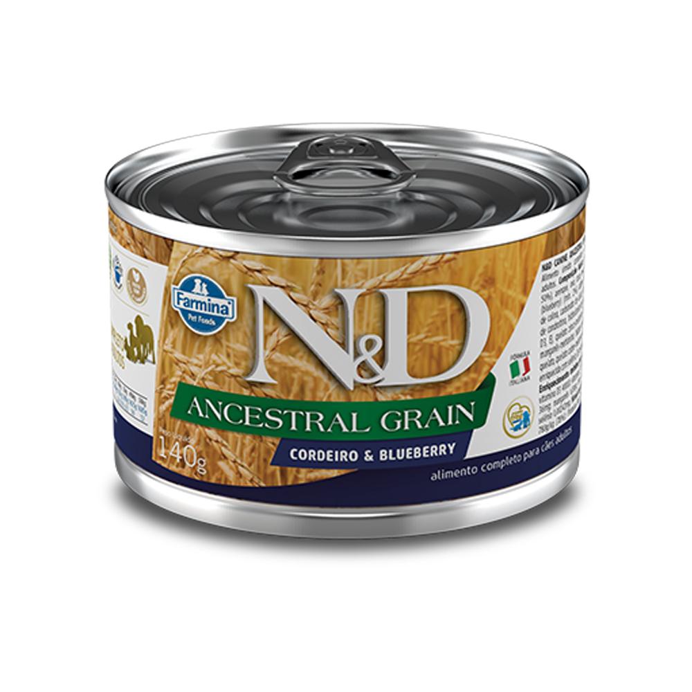 FARMINA ND CANINE WET ANCESTRAL GRAIN CORDEIRO 140G