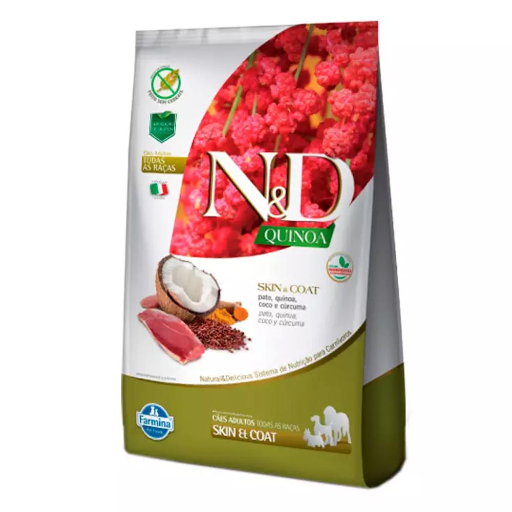 Ração N&D Quinoa para Cães Adultos Sabor Pato 10,1kg