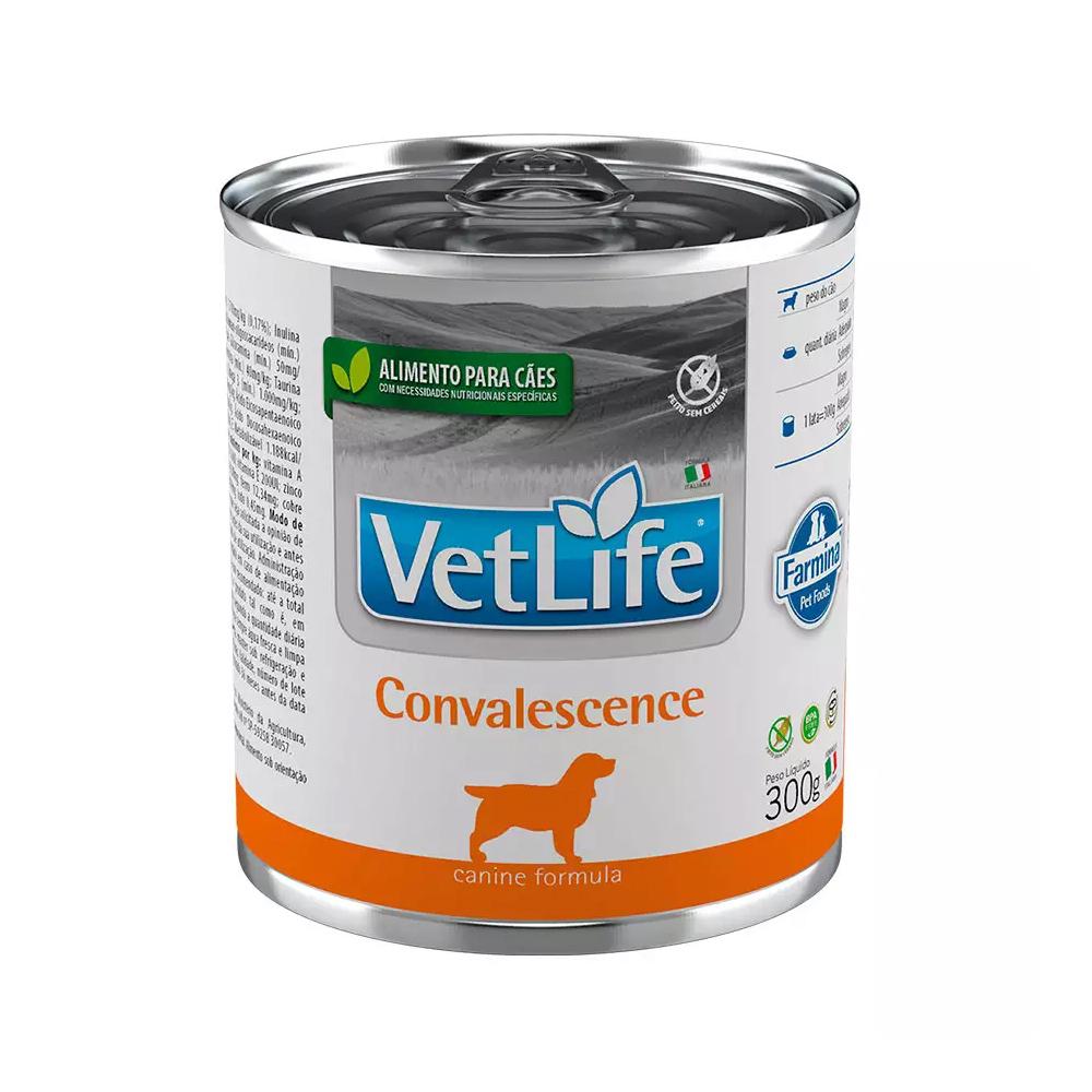 Ração Úmida Lata Farmina Vet Life Convalescence para Cães 300g
