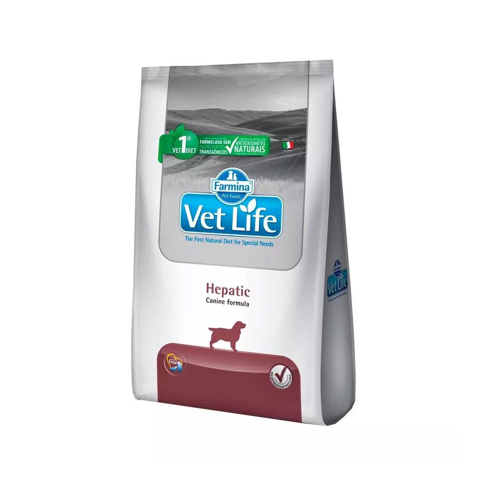 Ração Farmina Vet Life Hepatic para Cães Adultos 2kg