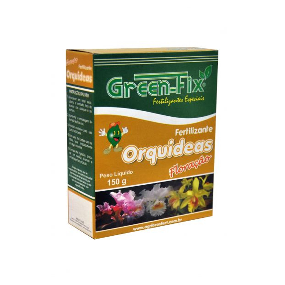 FERTILIZANTE GREEN FIX ORQUÍDEAS 150G