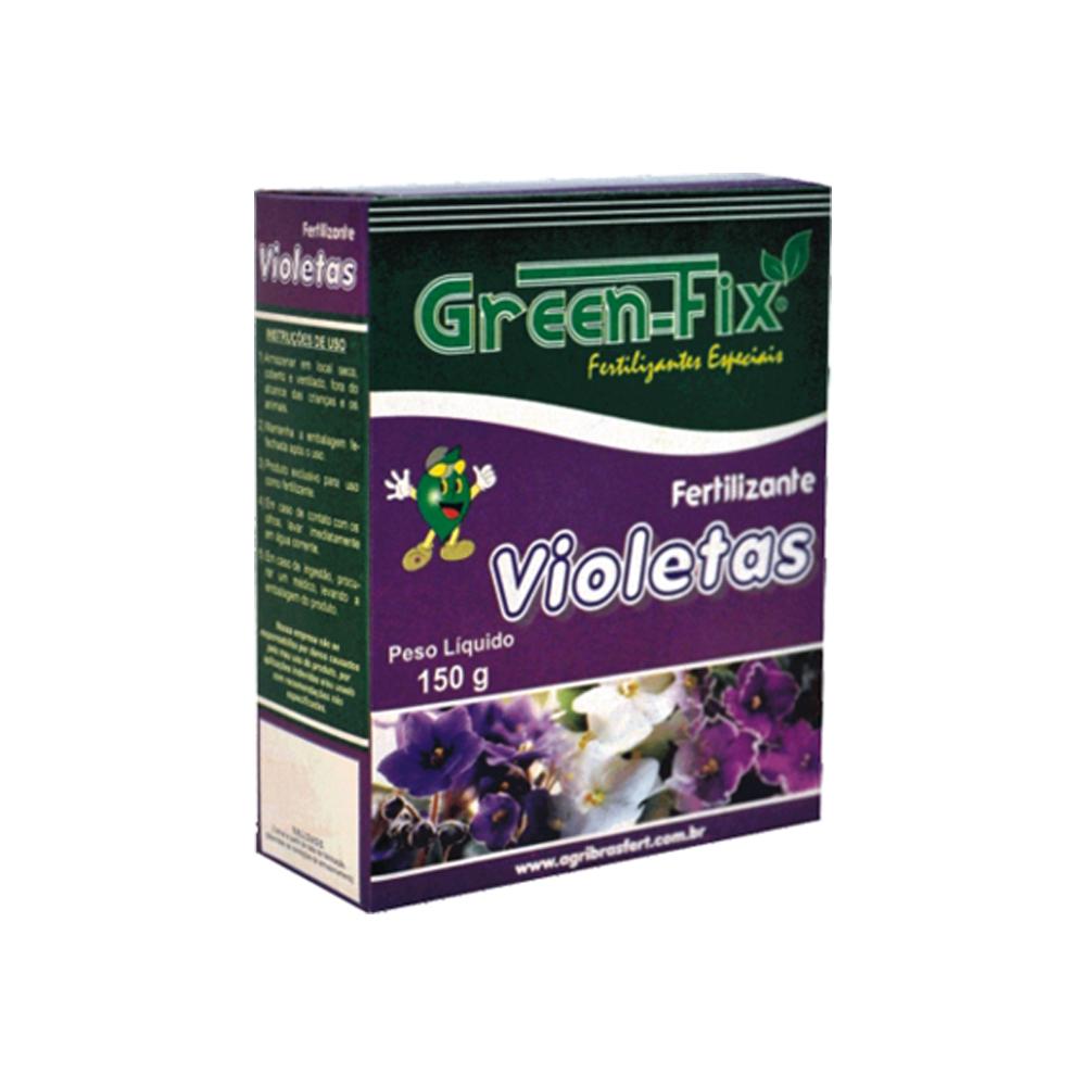 FERTILIZANTE GREEN FIX VIOLETAS 150G