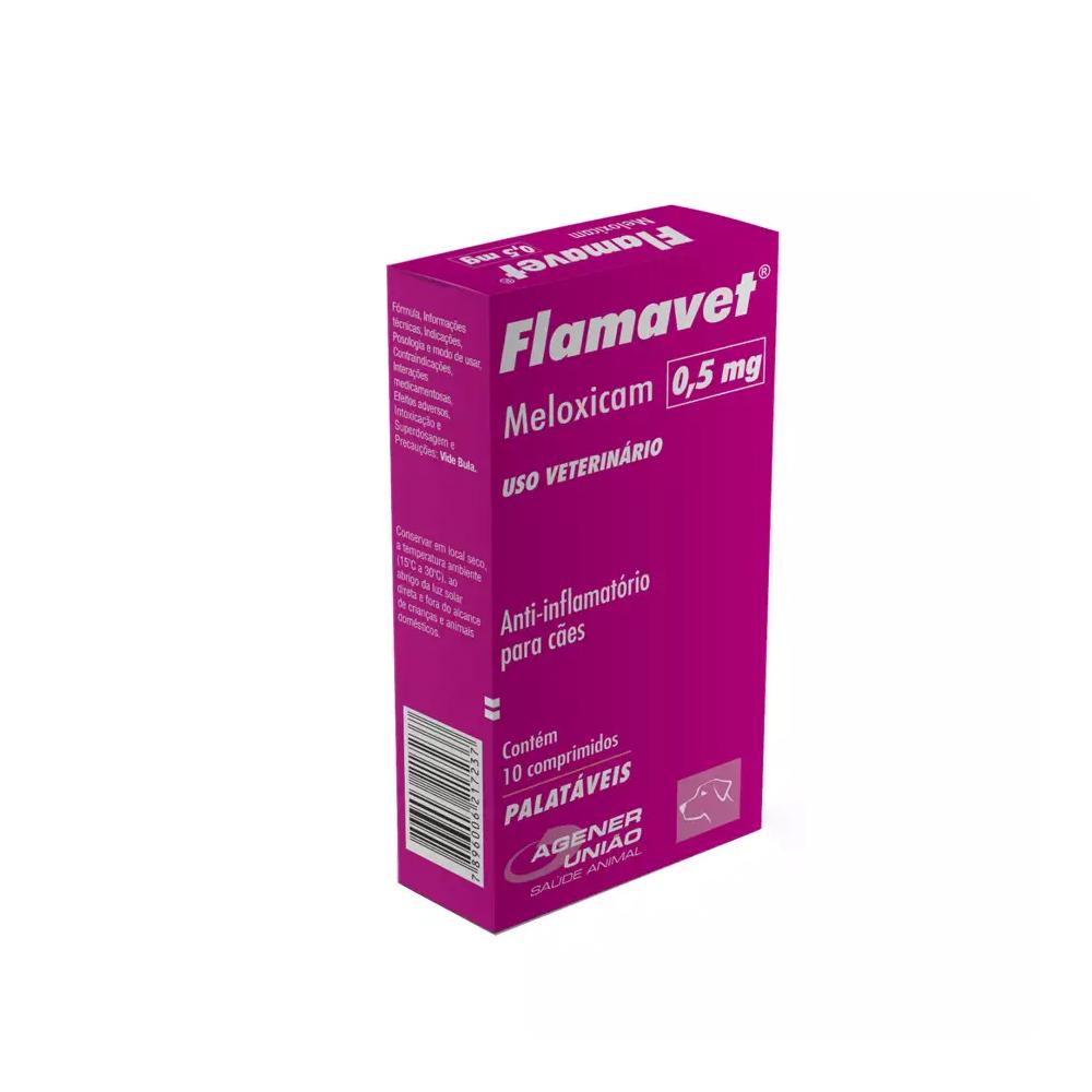 FLAMAVET CÃES 0,5MG