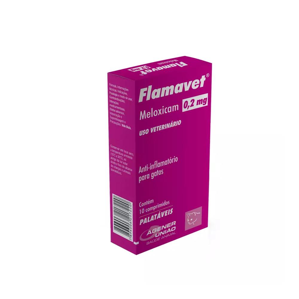 FLAMAVET GATOS 0,2MG