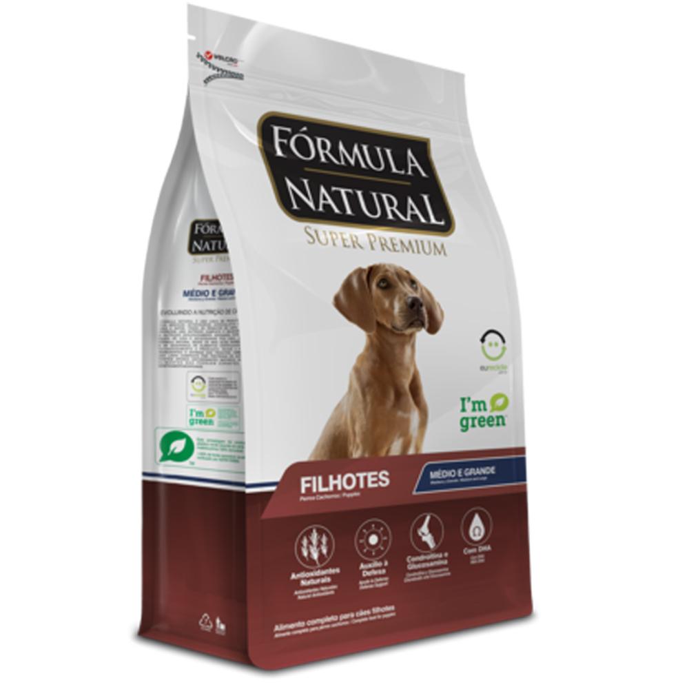 Ração Fórmula Natural para Cães Filhotes Porte Médio e Grande 15kg
