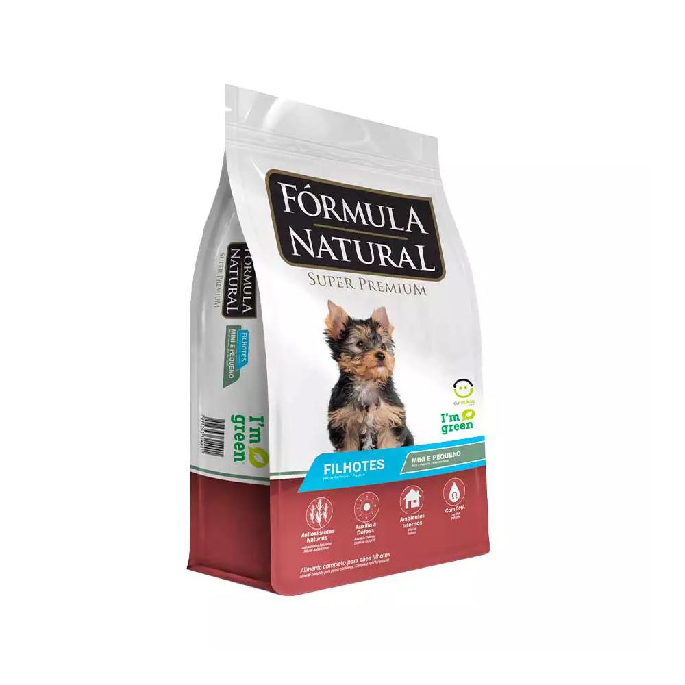 Ração Fórmula Natural para Cães Filhotes de Mini e Pequeno Porte 2,5kg