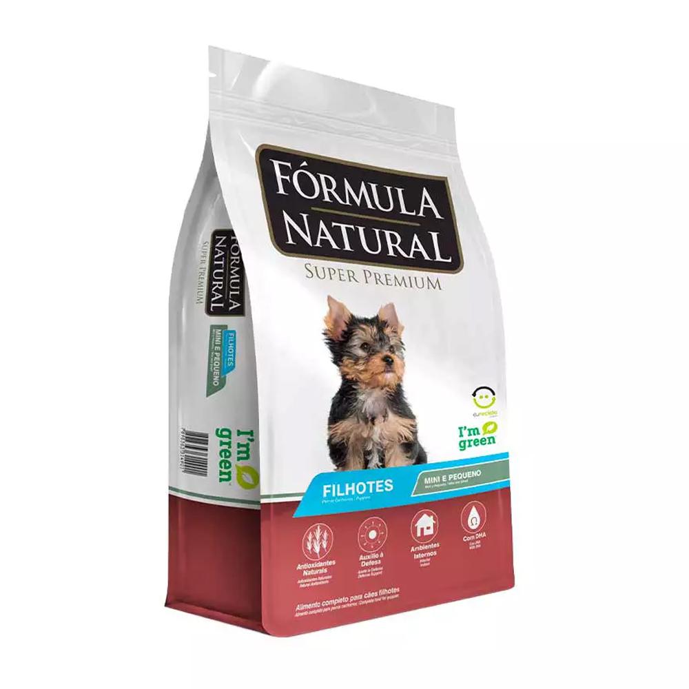 Ração Fórmula Natural para Cães Filhotes de Raças Pequenas 7kg