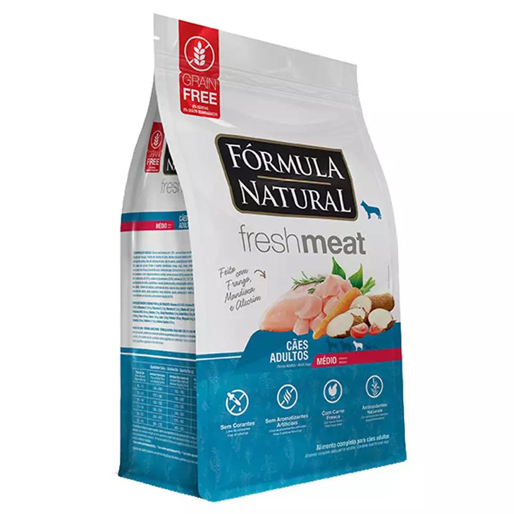 FÓRMULA NATURAL FRESH MEAT ADULTO MÉDIO 12KG