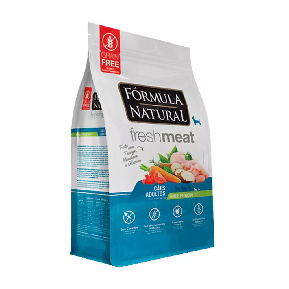 FORMULA NATURAL FRESH MEAT ADULTO MINI PEQUENO 7KG
