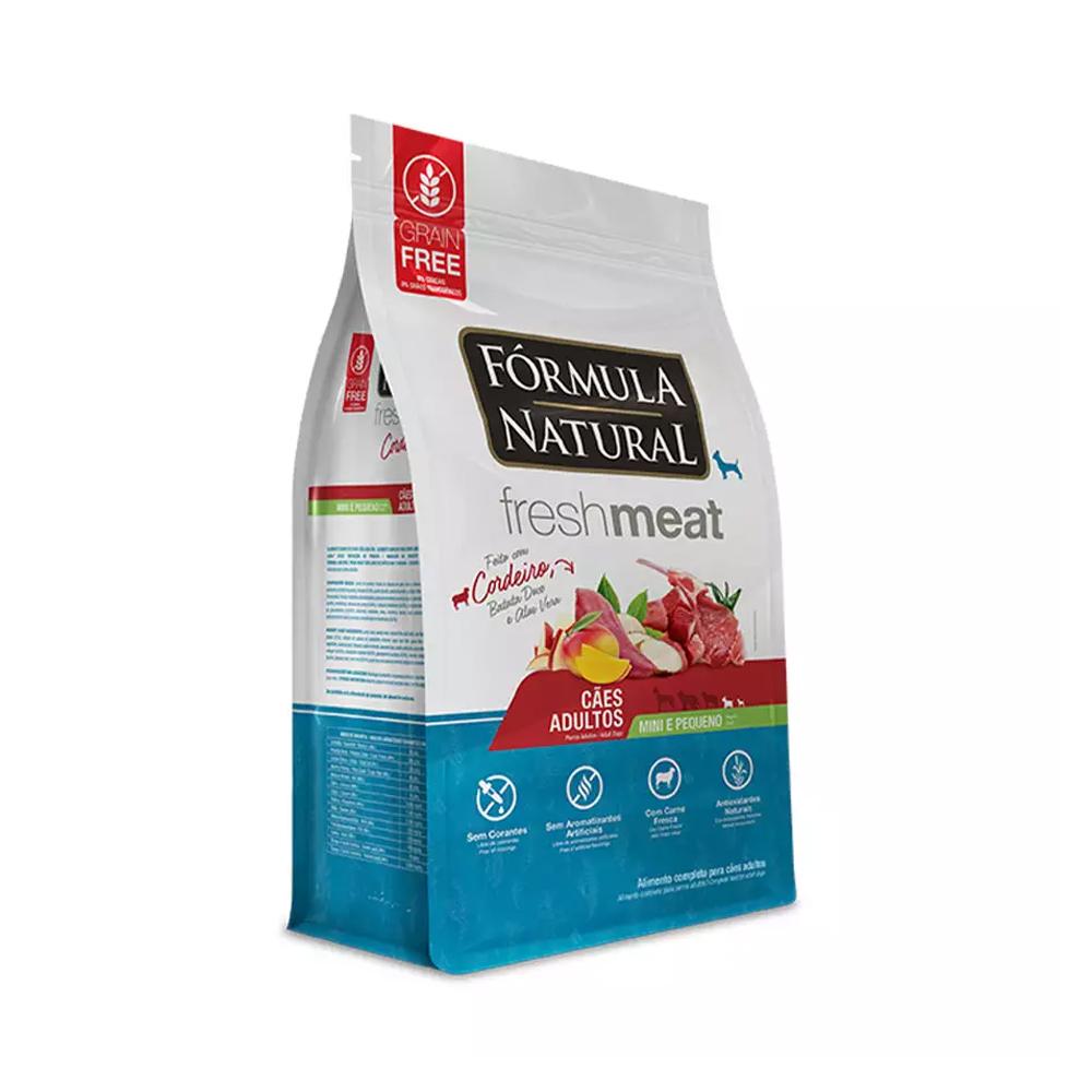 Ração Fórmula Natural FreshMeat para Cães de Mini e Pequeno Porte Sabor Cordeiro 2,5kg