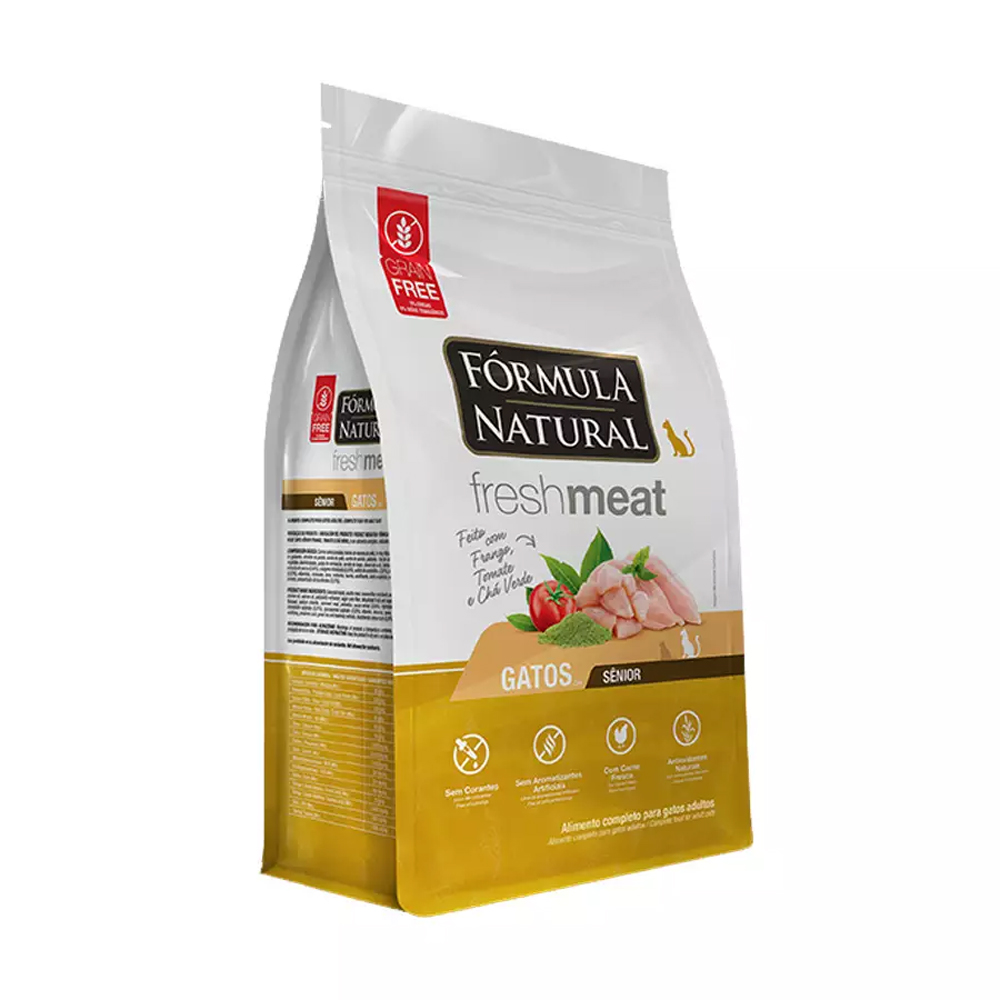 FORMULA NATURAL FRESH MEAT GATO SENIOR 7KG