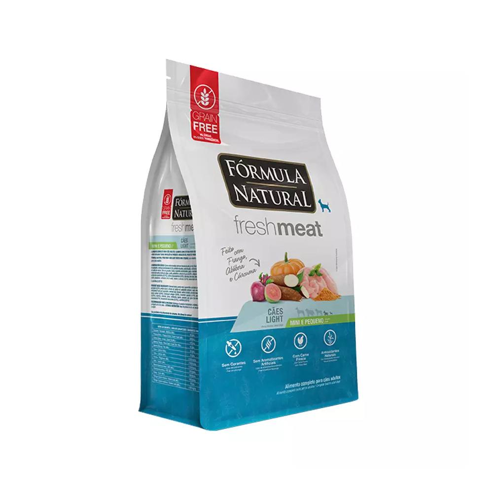 FORMULA NATURAL FRESH MEAT LIGHT MINI E PEQUENO 1KG