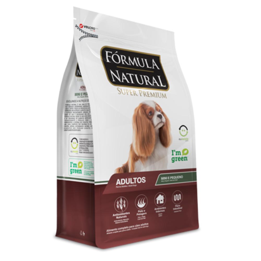 Ração Fórmula Natural para Cães Adultos de Mini e Pequeno Porte 15kg