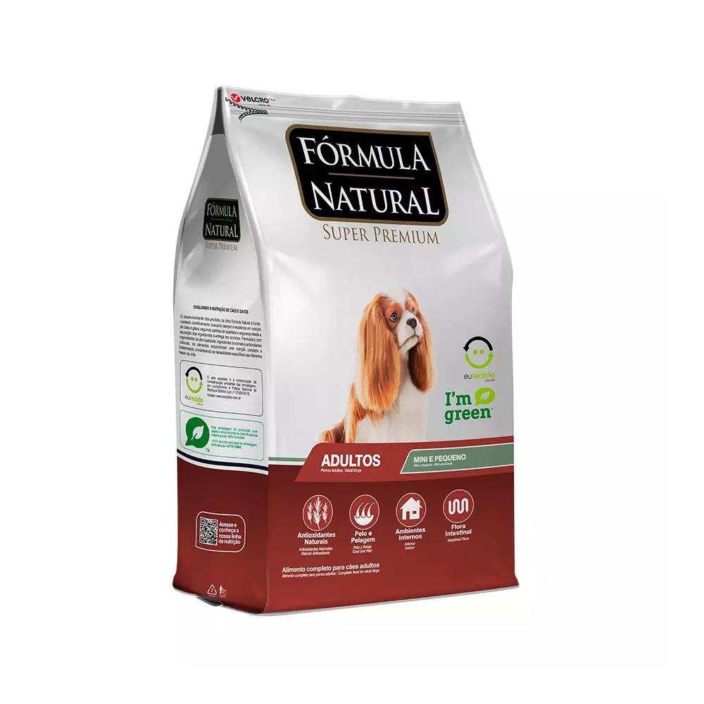 Ração Fórmula Natural para Cães Adultos de Mini e Pequeno Porte 1kg