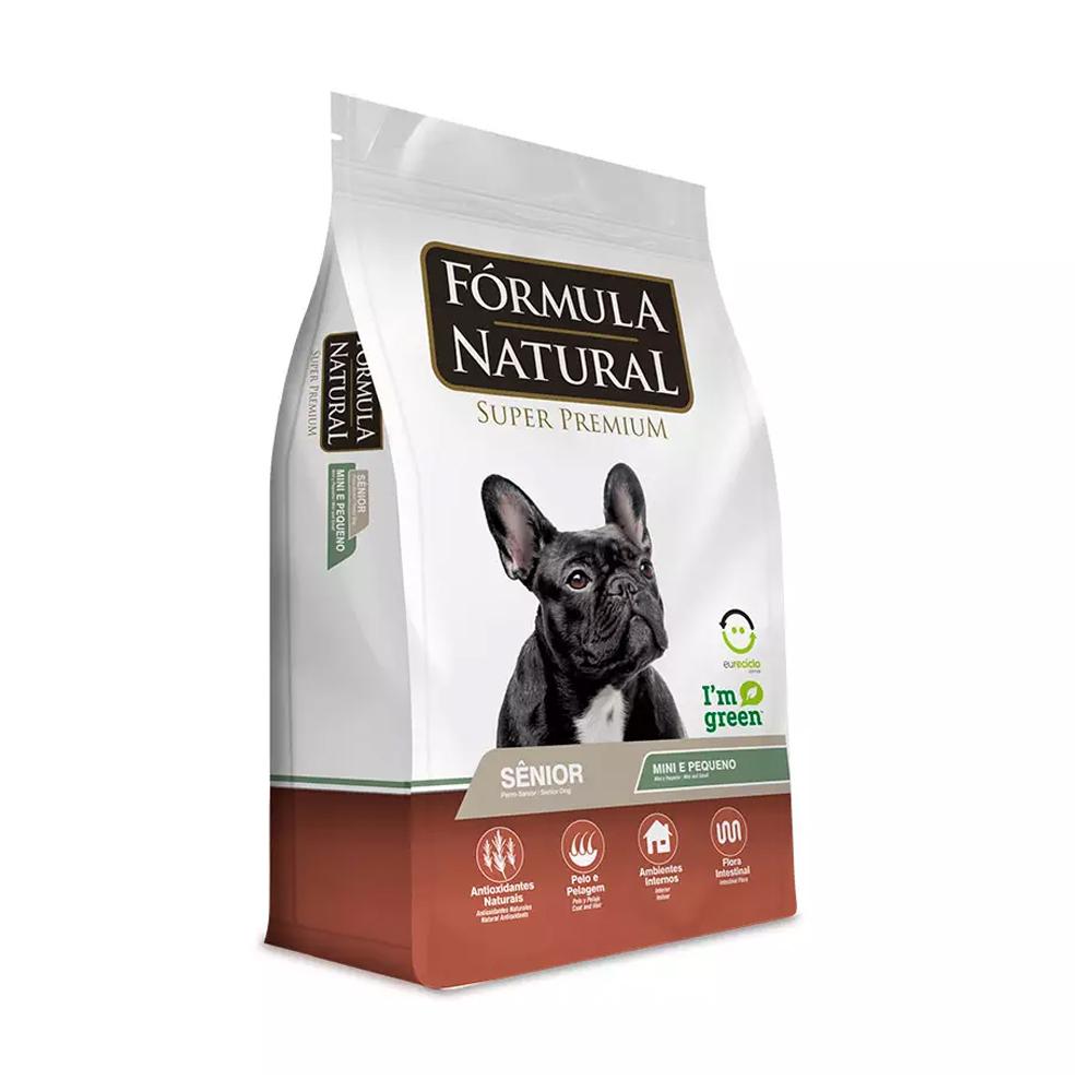 Ração Fórmula Natural para Cães Senior de Mini e Pequeno Porte 7kg