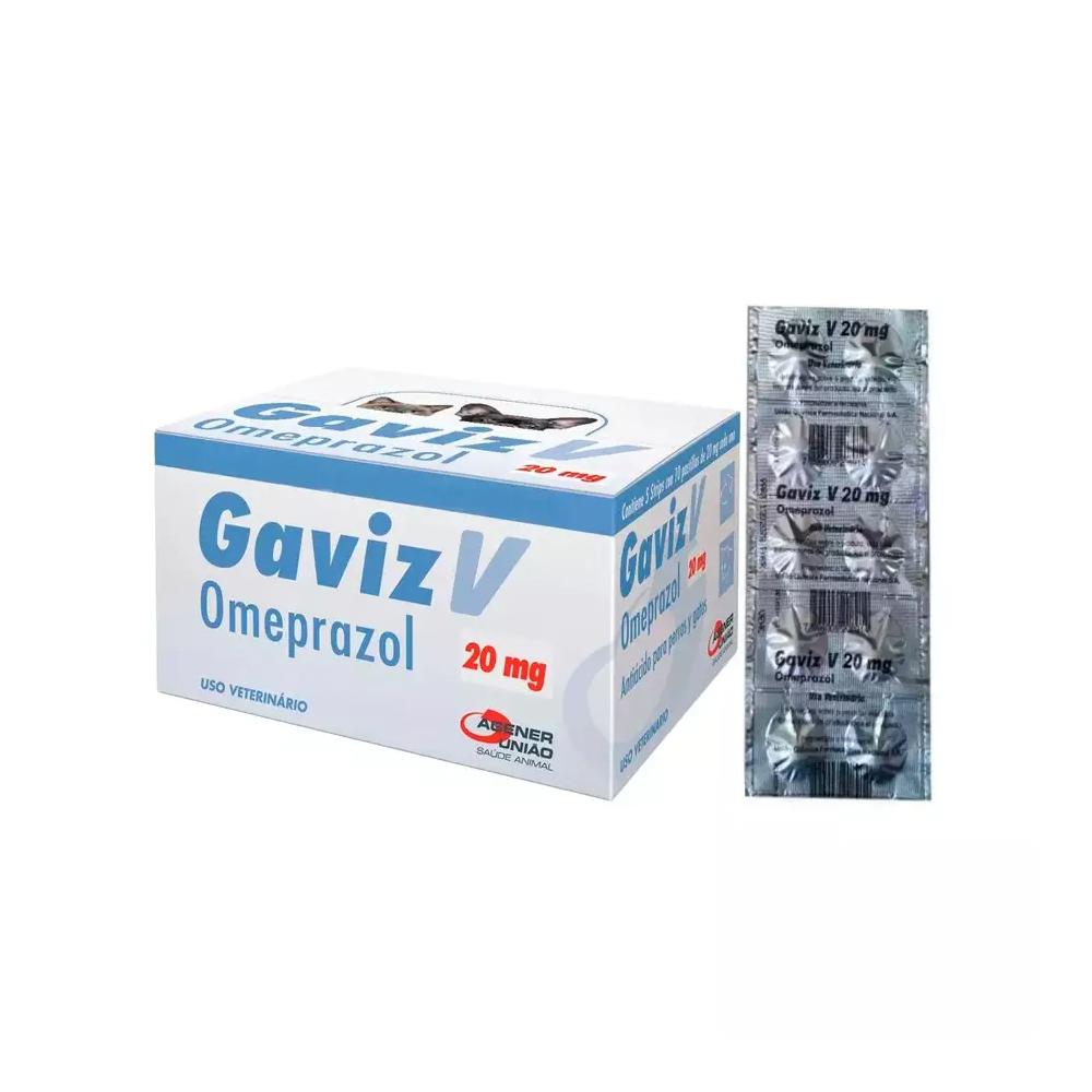 GAVIZ V 20MG - 10 COMPRIMIDOS