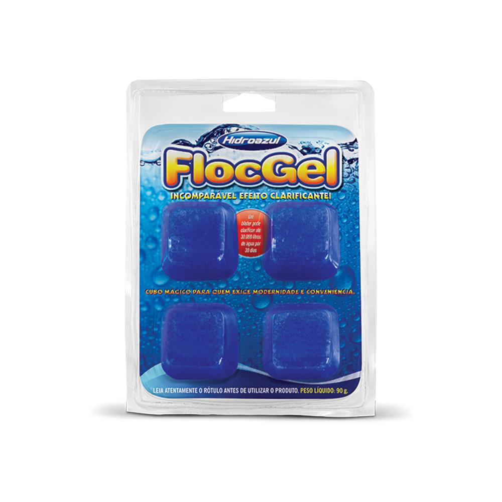 HIDROAZUL FLOCGEL 04 CUBOS