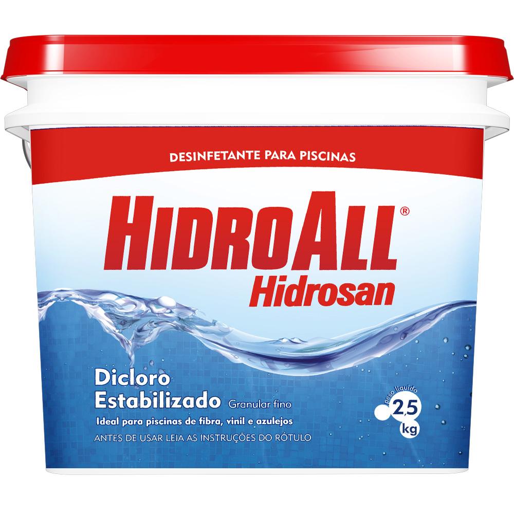 HIDROSAN CLORO PLUS DICLORO ESTABILIZADO 2,5KG