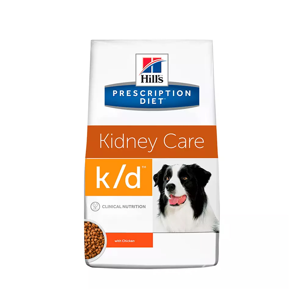 Ração Hills Prescription Diet Kidney Care k/d para Cães Adultos 3,85kg