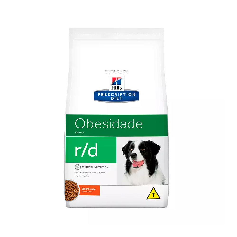 Ração Hill's Obesidade r/d para Cães Adultos Sabor Frango 10,1kg