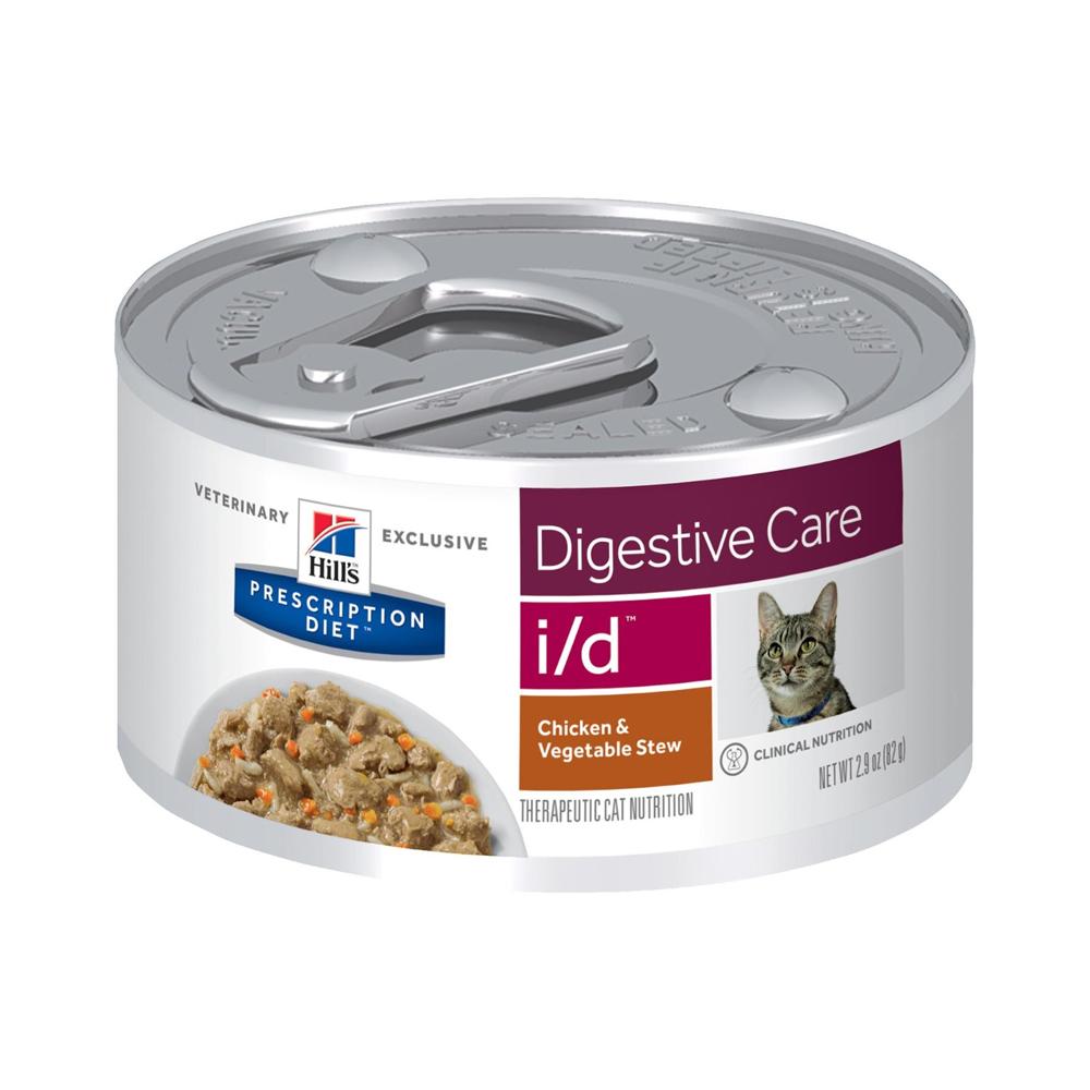 Ração Úmida Hills Prescription Diet Digestive Care i/d para Gatos Adultos 82g