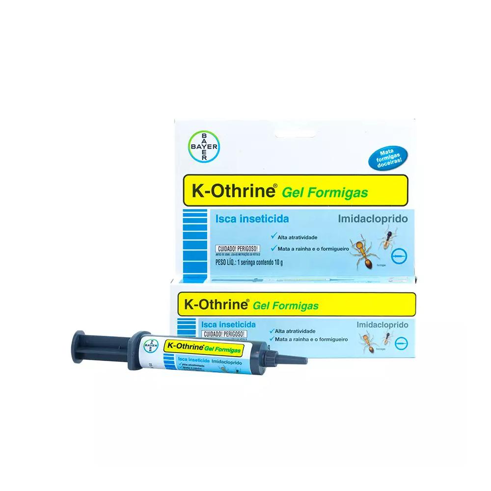 K-OTHRINE GEL FORMIGAS 10G
