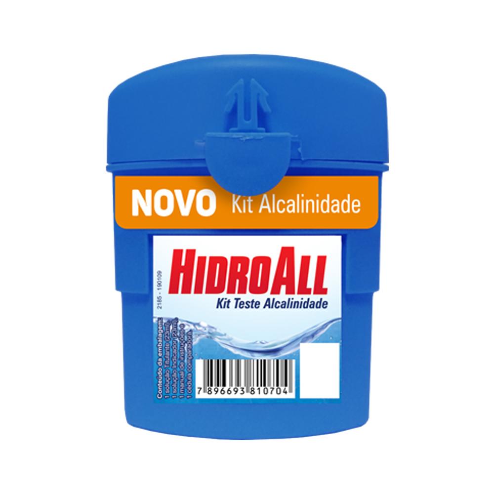 Kit Teste Alcalinidade Hidroall