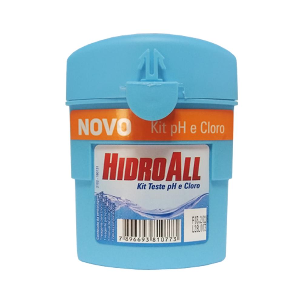 Kit Teste de PH e Cloro Hidroall