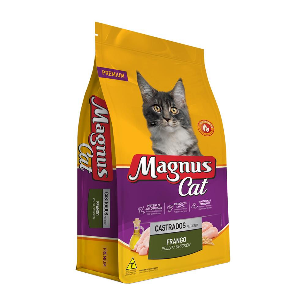 MAGNUS CAT CASTRADO FRANGO 1KG