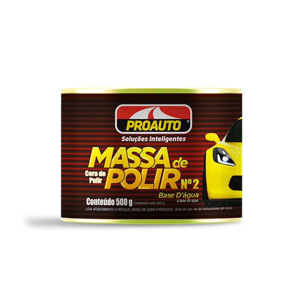 MASSA DE POLIR Nº2 500G