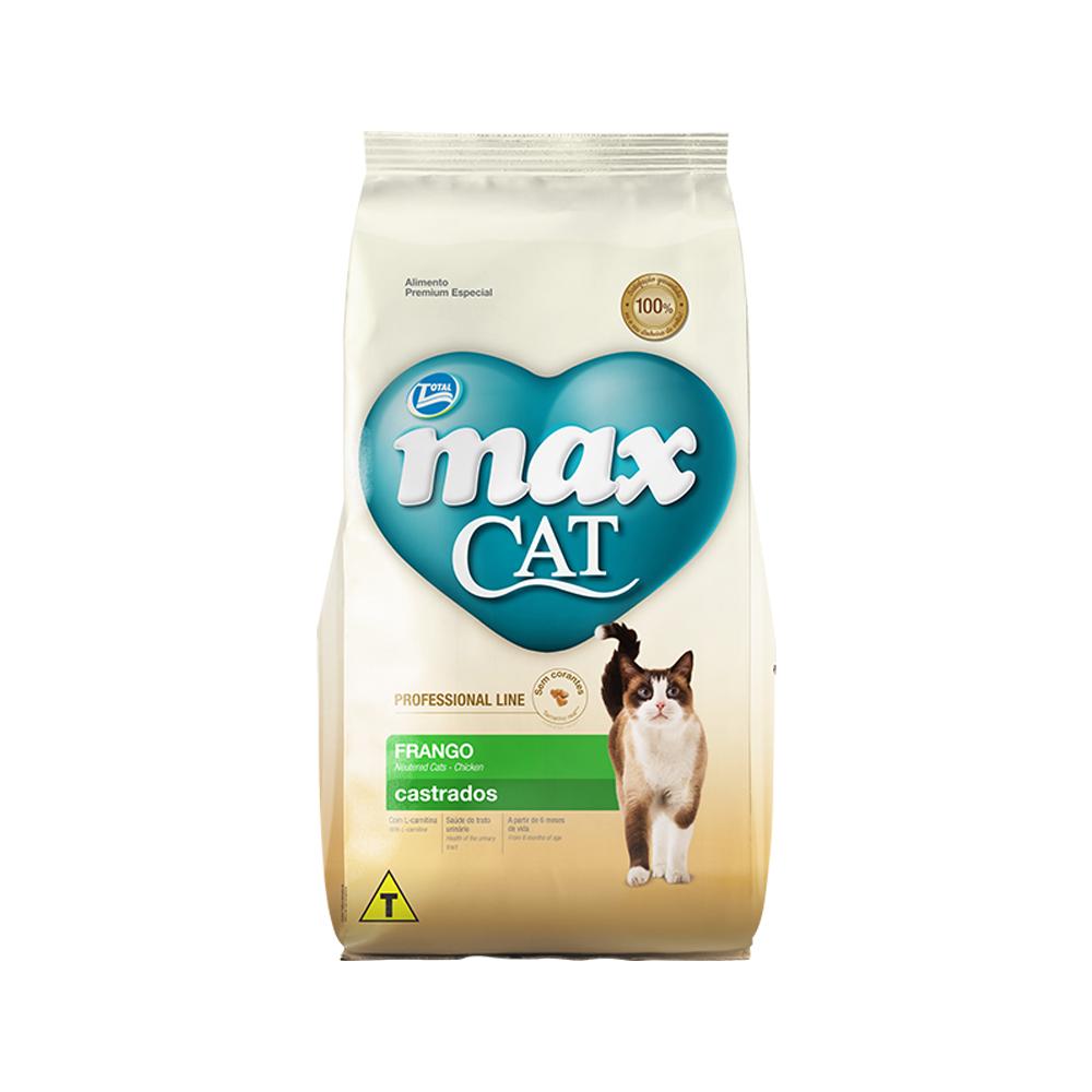 MAX CAT PROFESSIONAL LINE CASTRADOS FRANGO 1KG