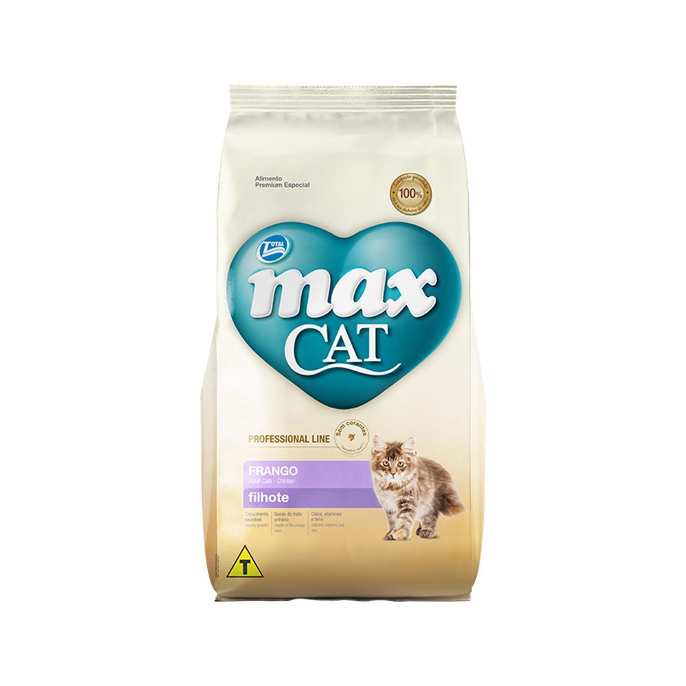 MAX CAT PROFESSIONAL LINE FILHOTE FRANGO 1KG