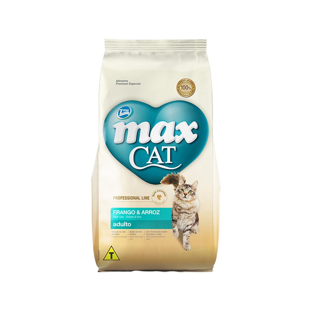 MAX CAT PROFESSIONAL LINE FRANGO E ARROZ 1KG
