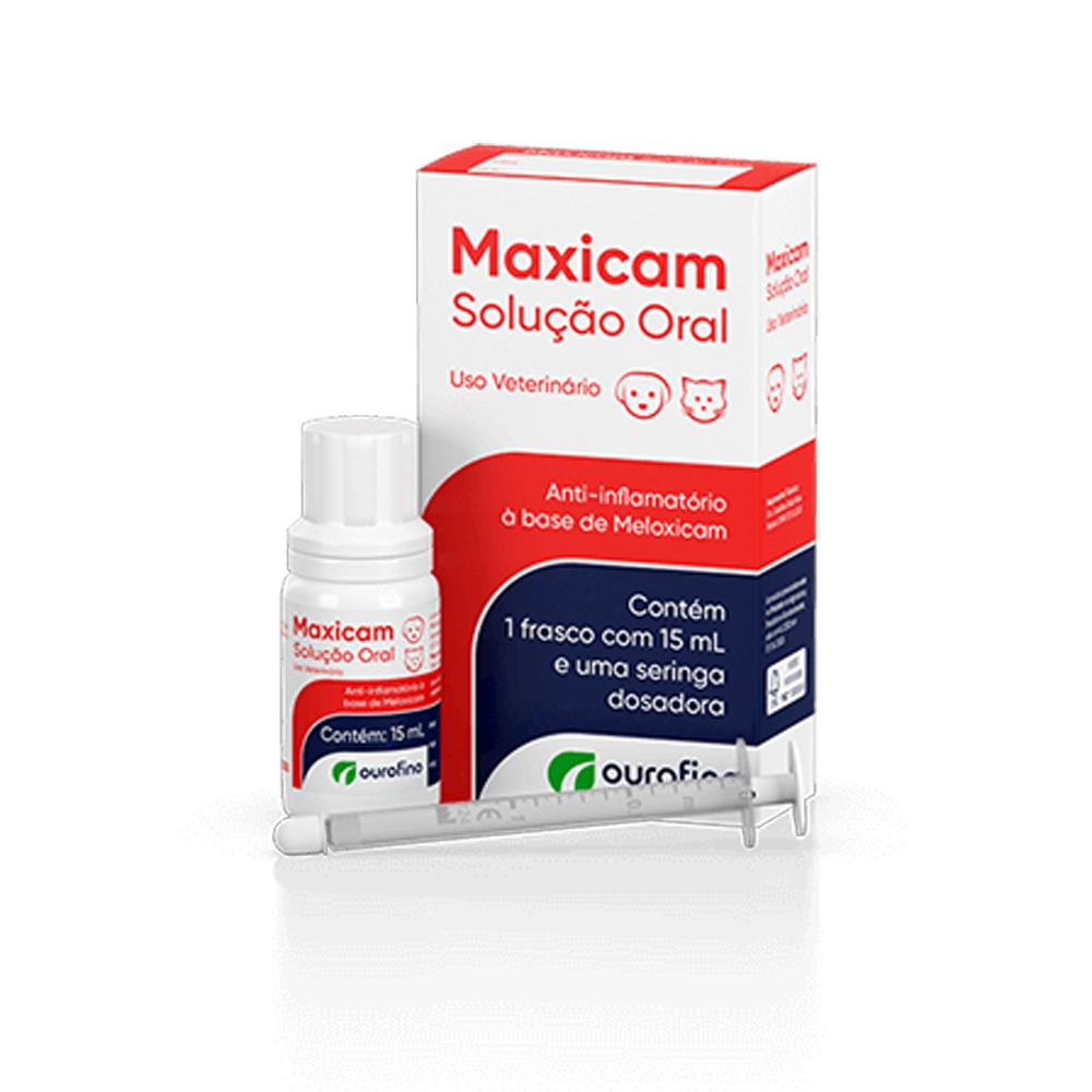 Maxicam Solução Oral para Cães e Gatos 15ml