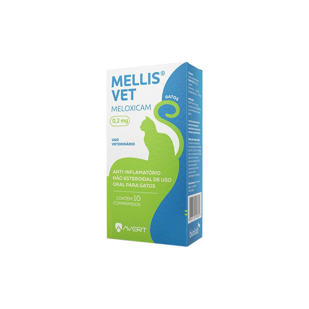 MELLIS VET 0,2MG 10 COMPRIMIDOS GATOS