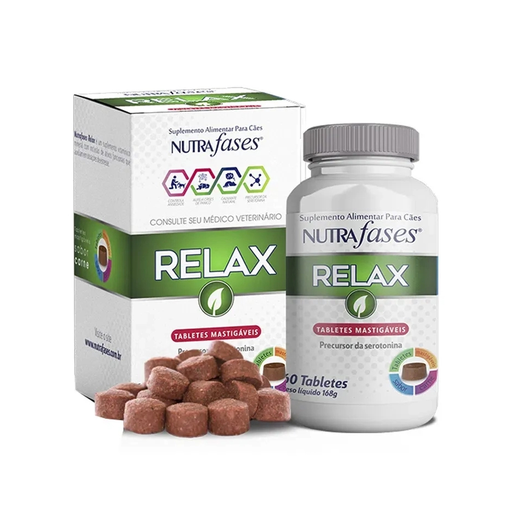 Nutrafases Relax 60 tabletes