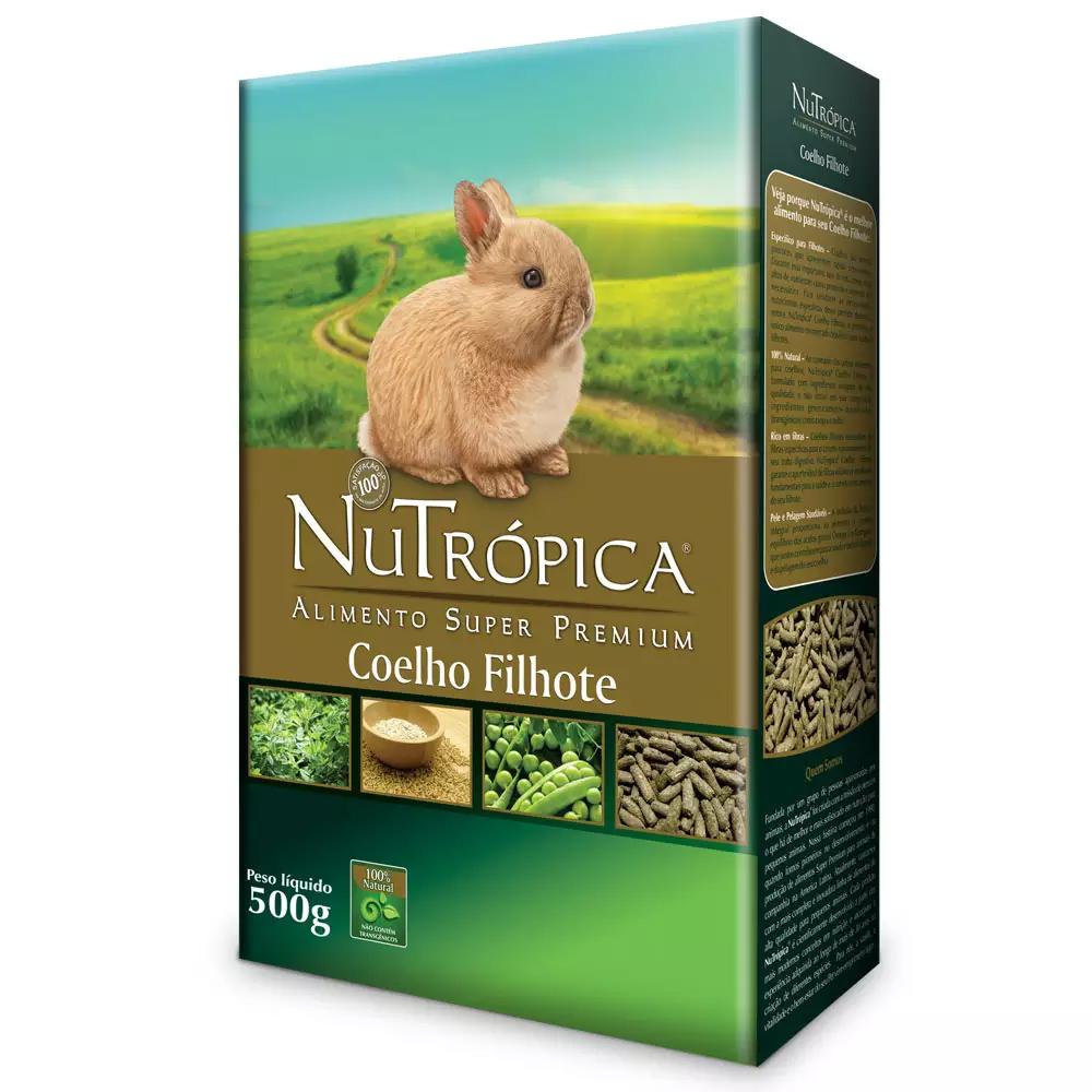 NUTRÓPICA COELHO NATURAL FILHOTE 500G