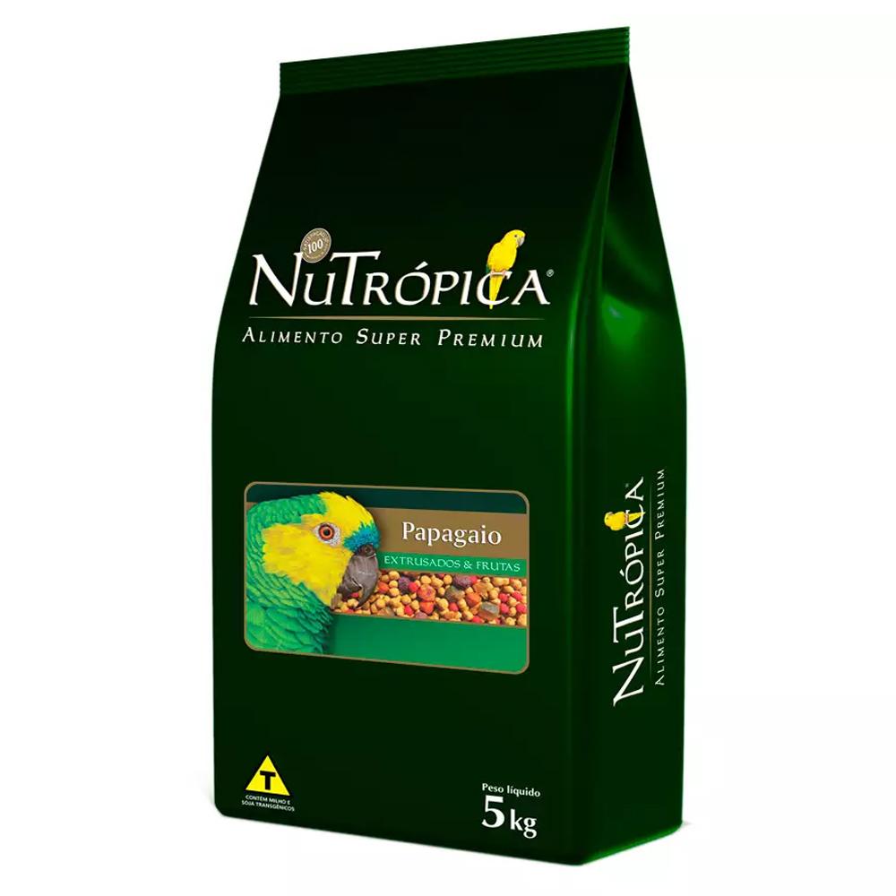 NUTRÓPICA PAPAGAIO FRUTAS 5KG