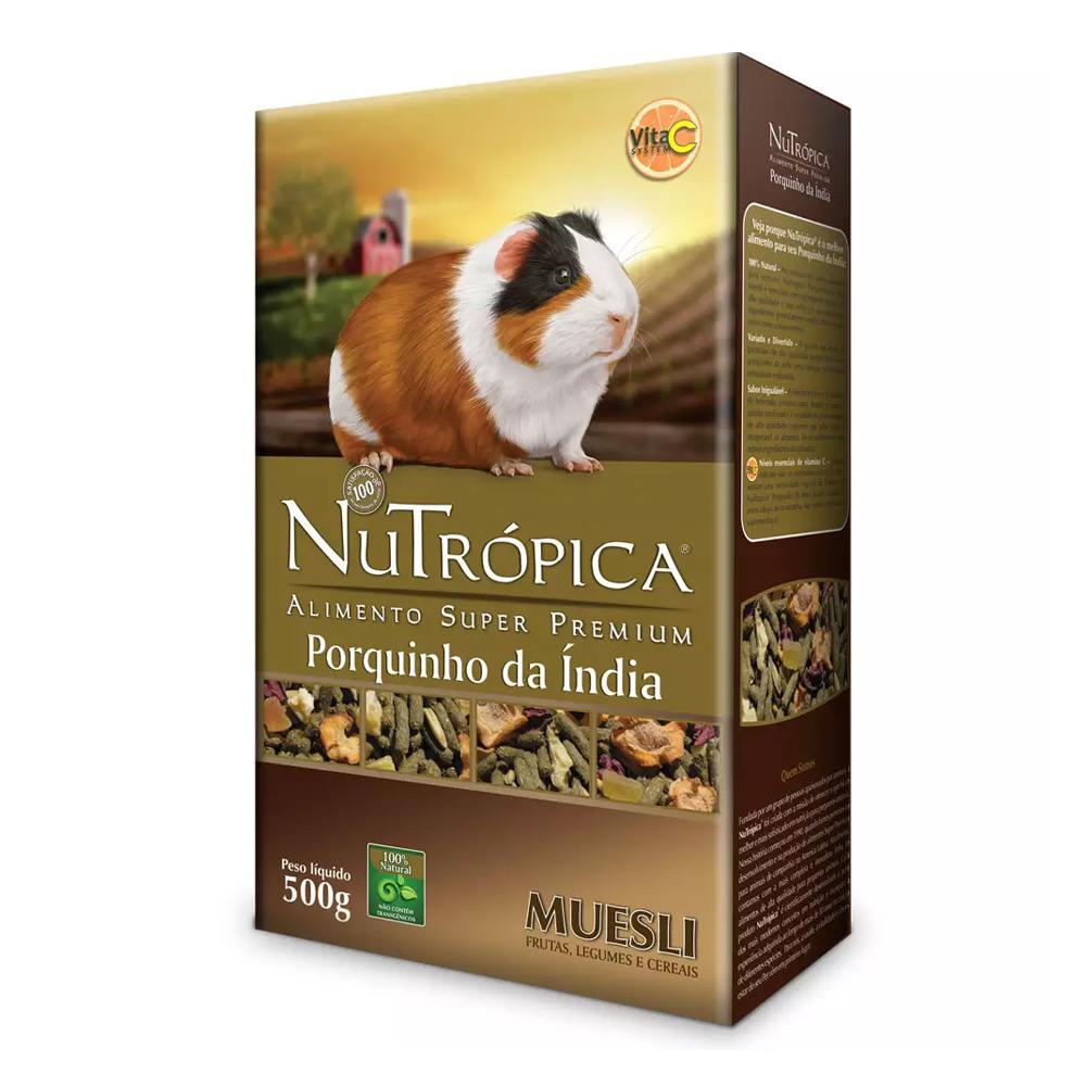 NUTRÓPICA PORQUINHO DA INDIA MUESLI 500G
