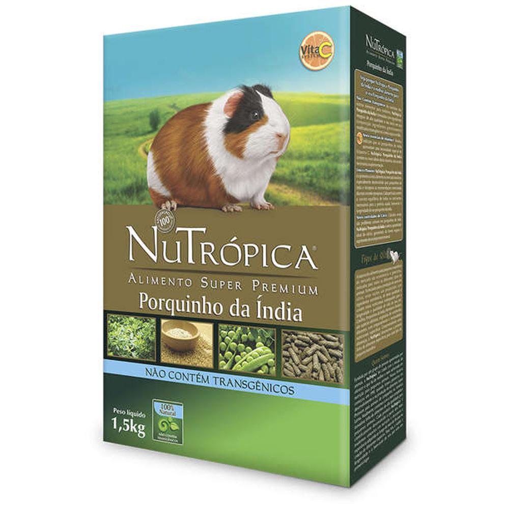 NUTRÓPICA PORQUINHO DA ÍNDIA NATURAL 1,5KG