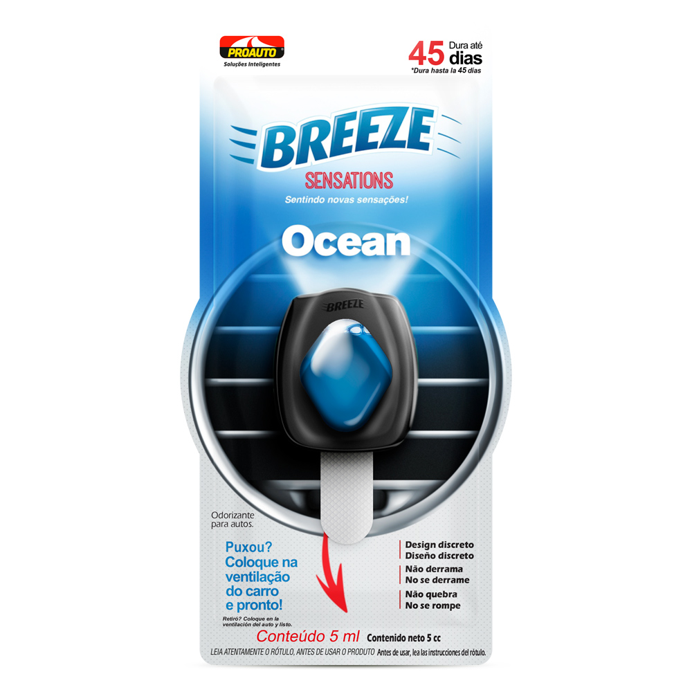 ODORIZANTE BREEZE SENSATIONS OCEAN DUPLO