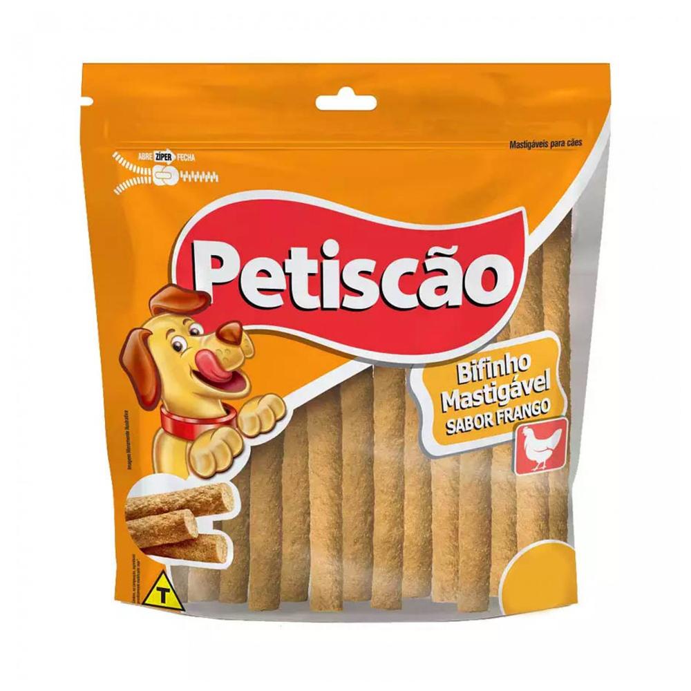 OSSO PETISCÃO BIFINHO FRANGO 500G
