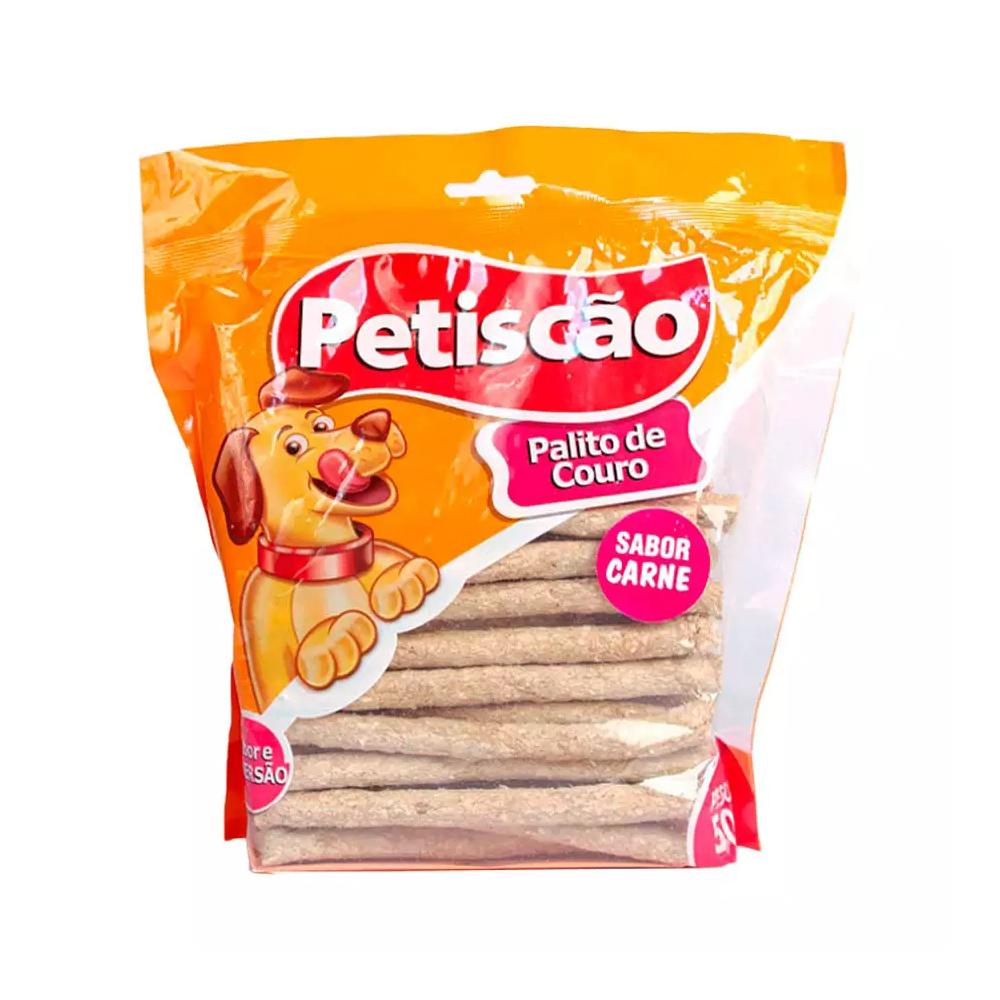 OSSO PETISCÃO PALITO CARNE 08MM 500G