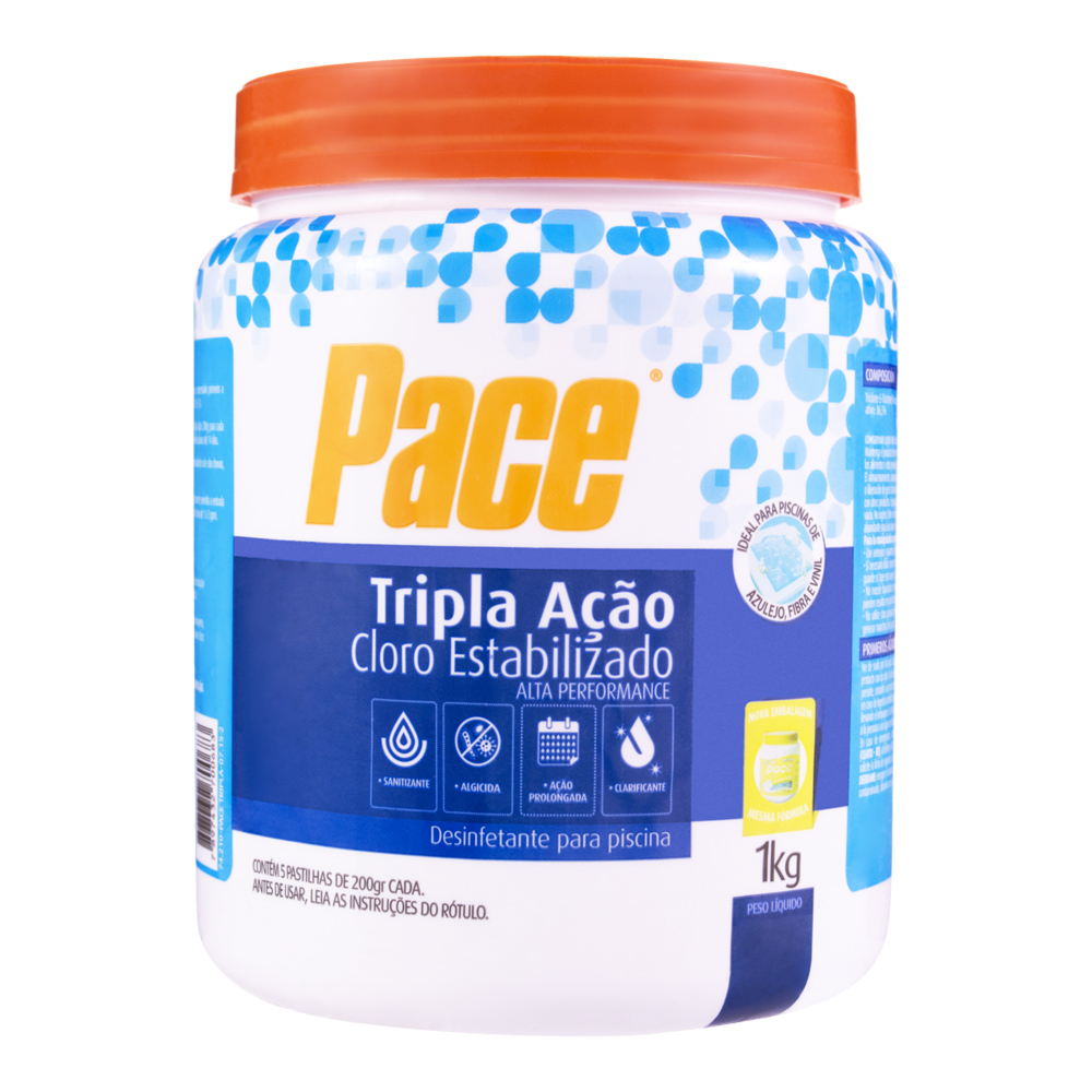 PACE TRICLORO 1KG (5x200G)