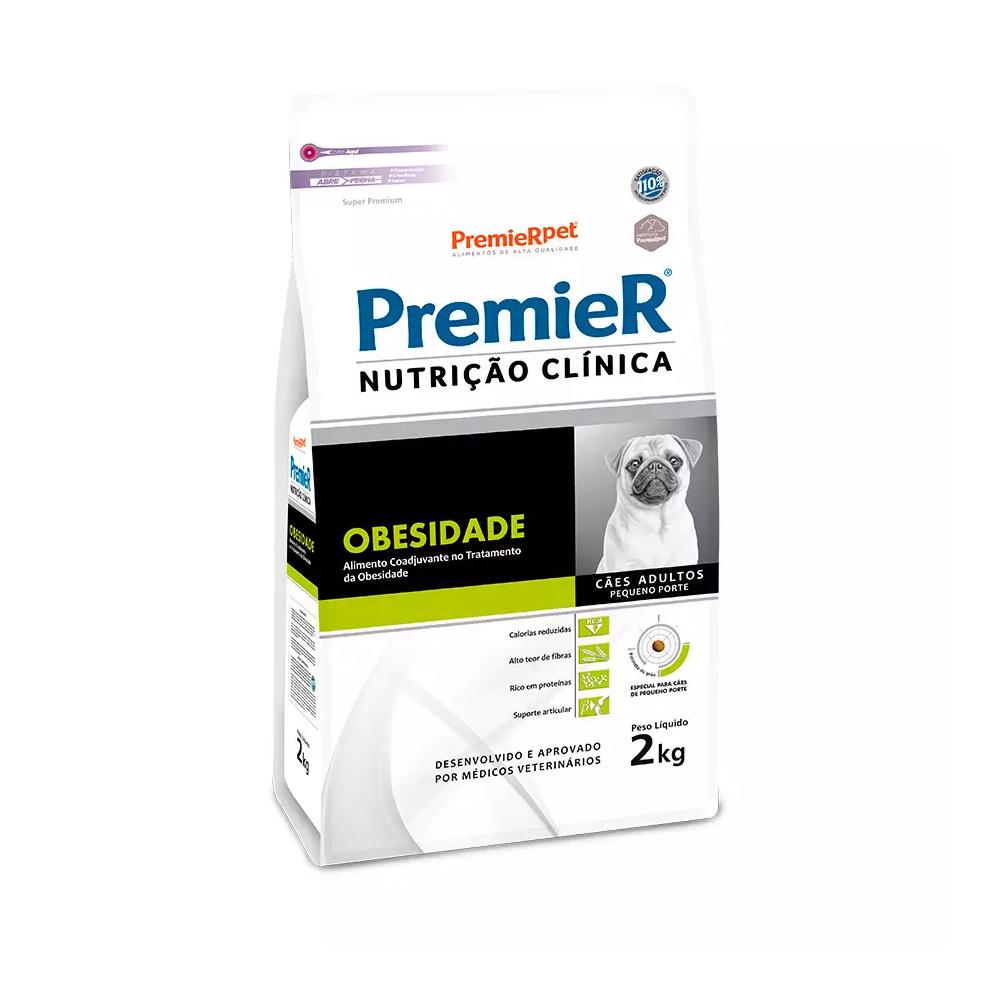 Ração Premier Nutrição Clínica Obesidade para Cães Adultos de Pequeno Porte 2kg