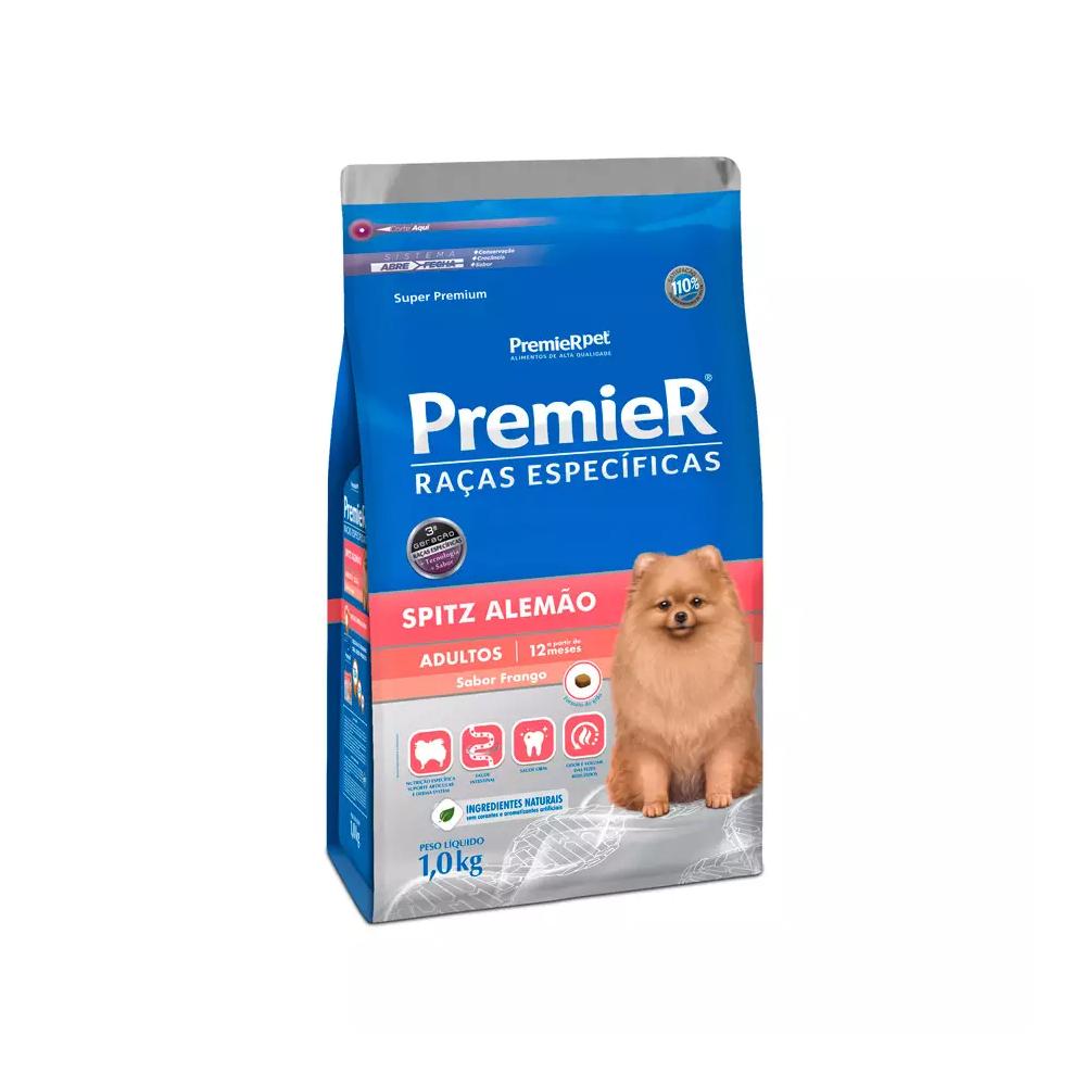 Ração Premier Raças Específicas Spitz Alemão para Cães Adultos 1kg