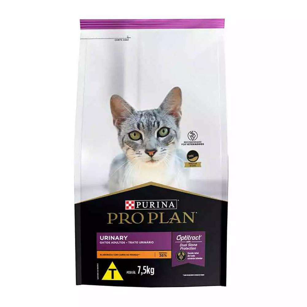 Ração Proplan Urinary para Gatos Adultos Sabor Frango 7,5kg