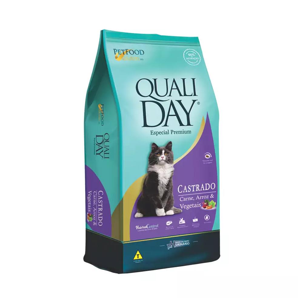 QUALIDAY CAT CASTRADO CARNE 3KG